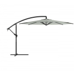 Offset Patio Umbrella, Sand Gray