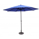 9' Umbrella With Polyester Fabric, Blue