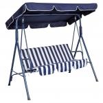 3-Seat Canopy Swing Hammock