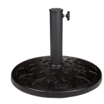 Round Black Umbrella Base