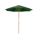 Outdoor Wood Market Umbrella