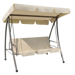 Swing Chair/Bed With Canopy