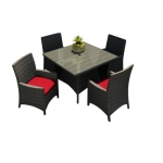 Modern Patio Square Dining Set