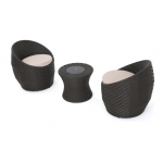 3-Piece Outdoor Chat Set
