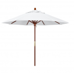 9' Wood Umbrella
